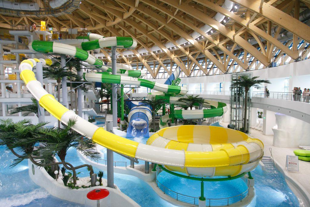 Аквамир Новосибирск крытый аквапарк