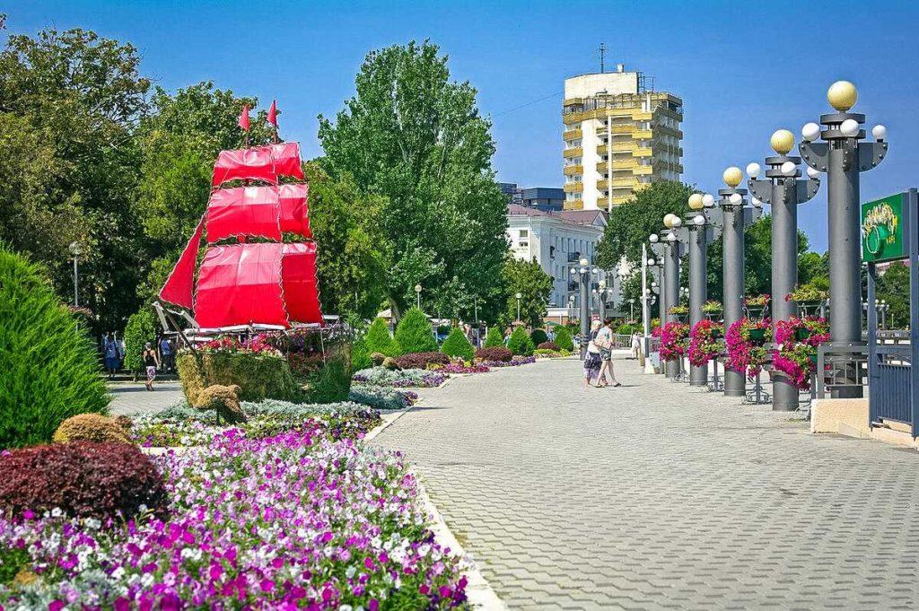 Анапа набережная курорт Черное море