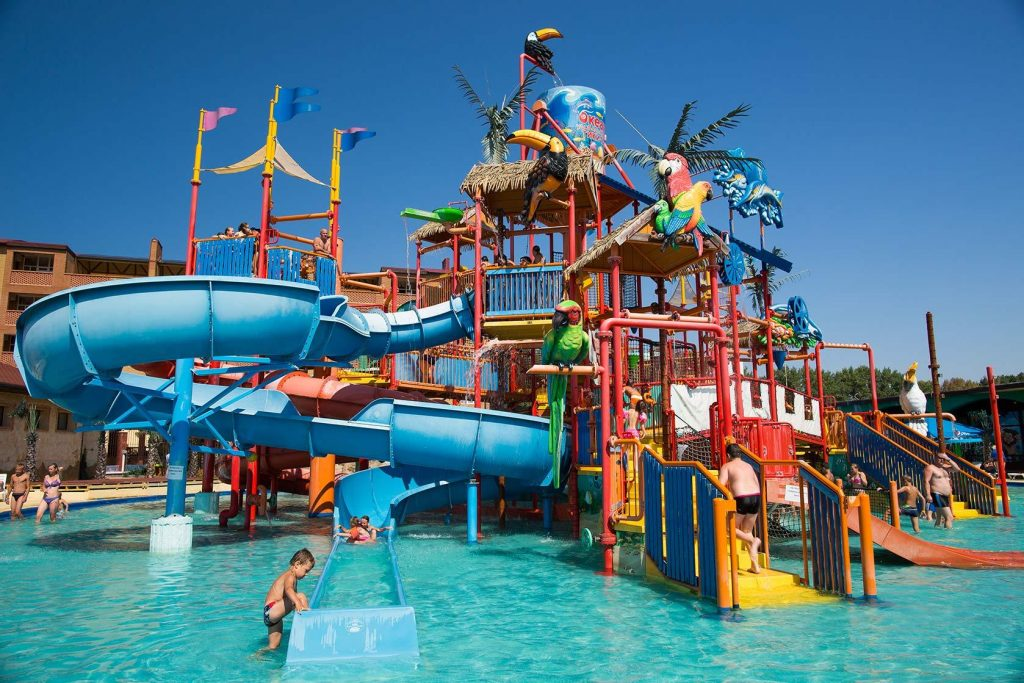 Аквапарк Тики-так детская зона Анапа