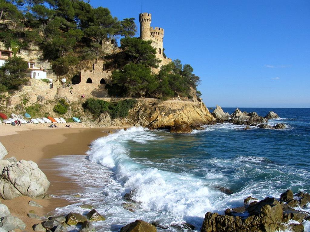 Коста Брава курорты Испании море пляж
