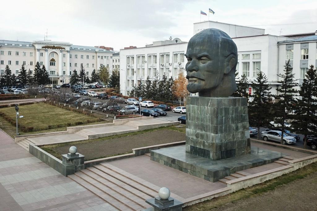 Памятник Ленину Улан-Удэ что посмотреть