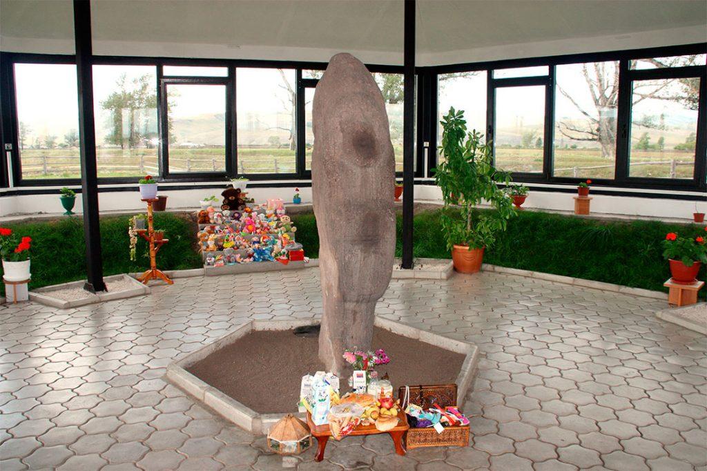 Каменная мать Хакасия