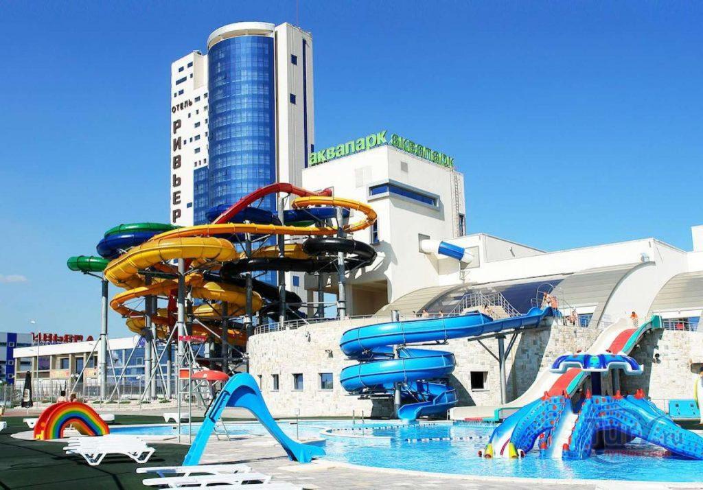 Ривьера аквапарк Казань