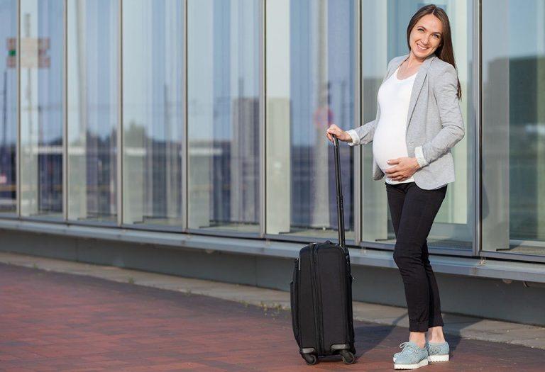 беременные на самолете