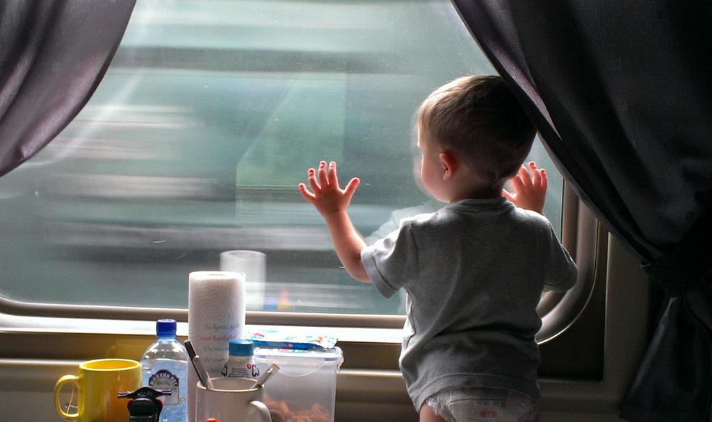 дети в поезде жд-билеты