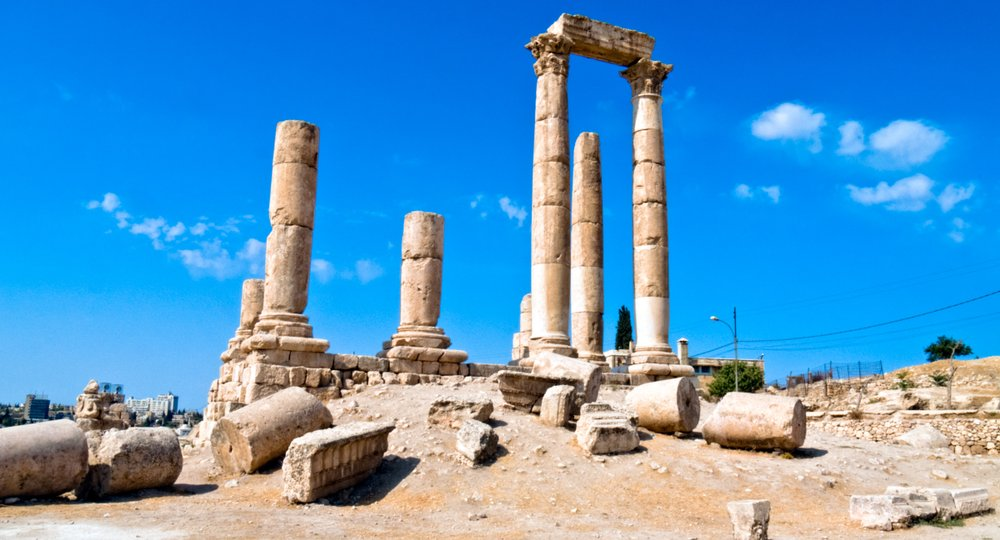 Cheap flights from Charleston to Amman