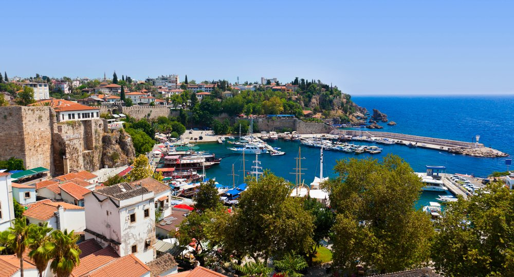 Cheap flights from Birmingham to Antalya