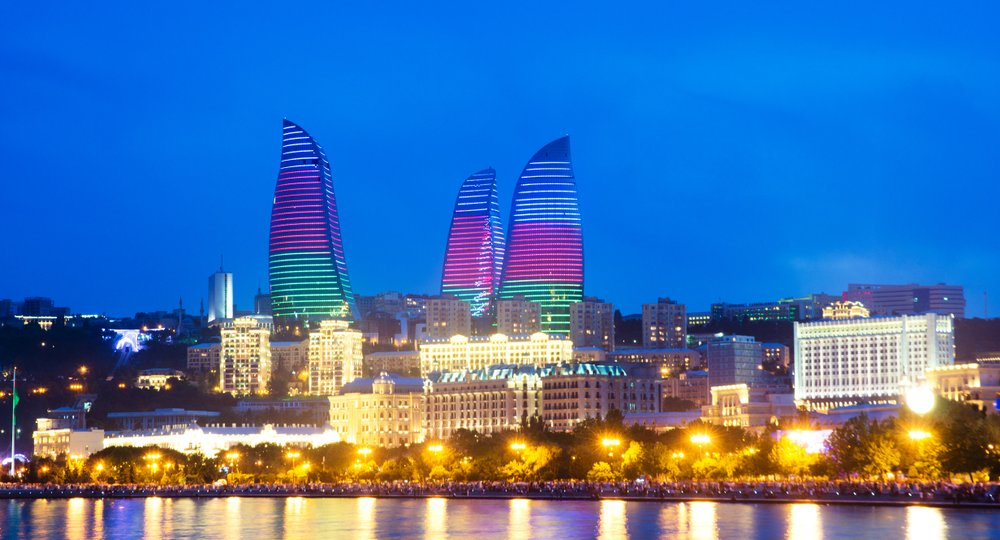 город Баку