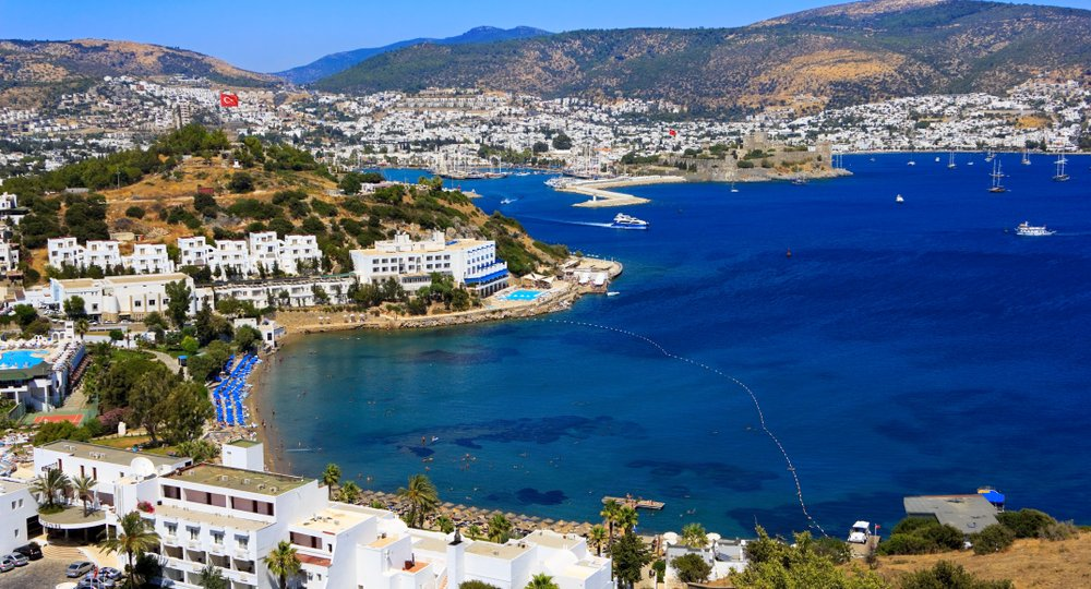 Cheap flights from Manchester to Bodrum