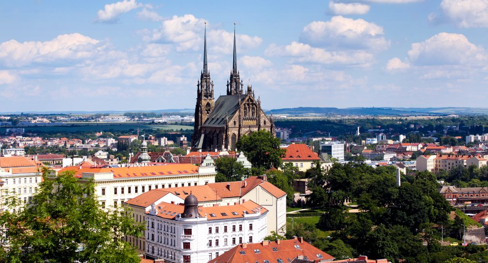 Cheap flights from London to Brno