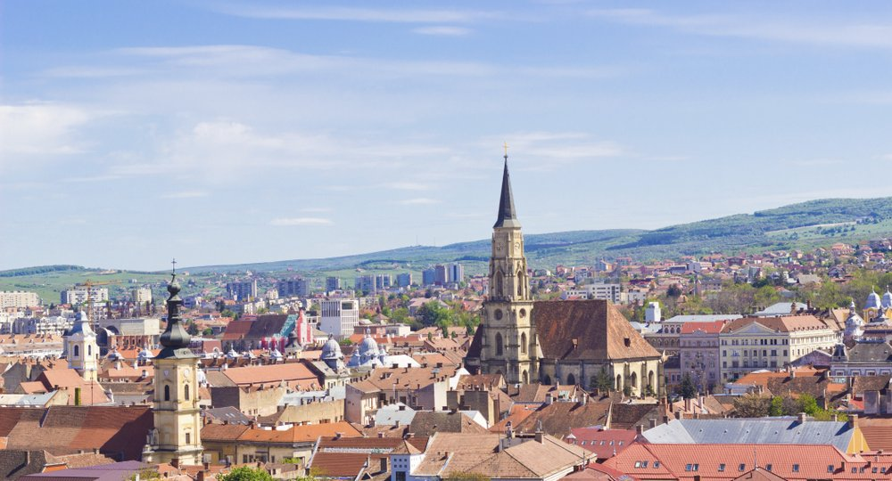 Cheap flights from London to Cluj