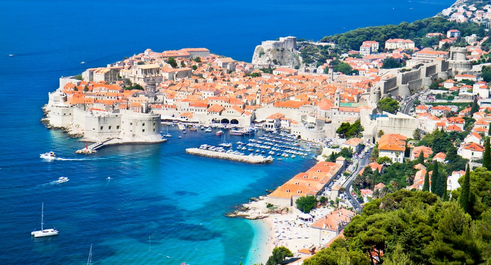 Cheap flights from London to Dubrovnik