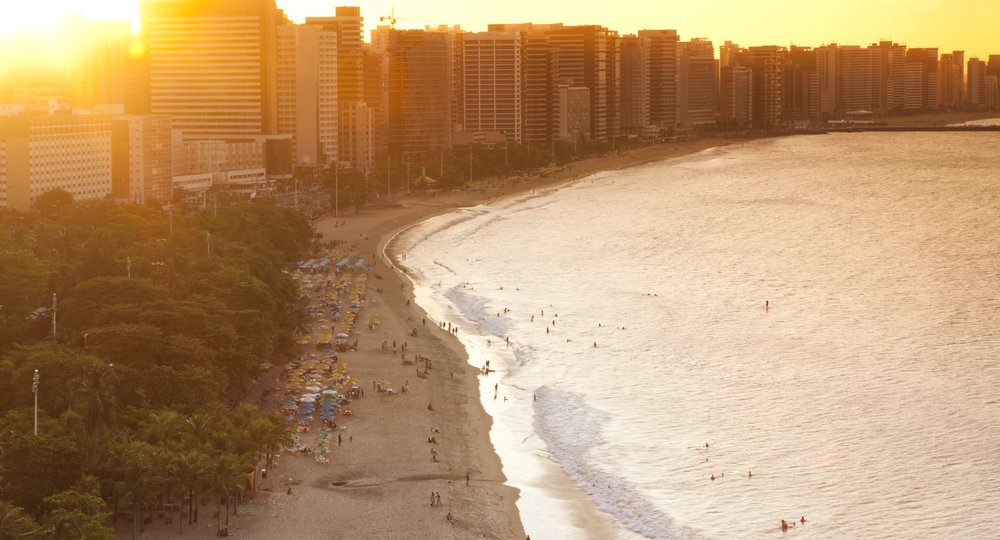Cheap flights from London to Fortaleza