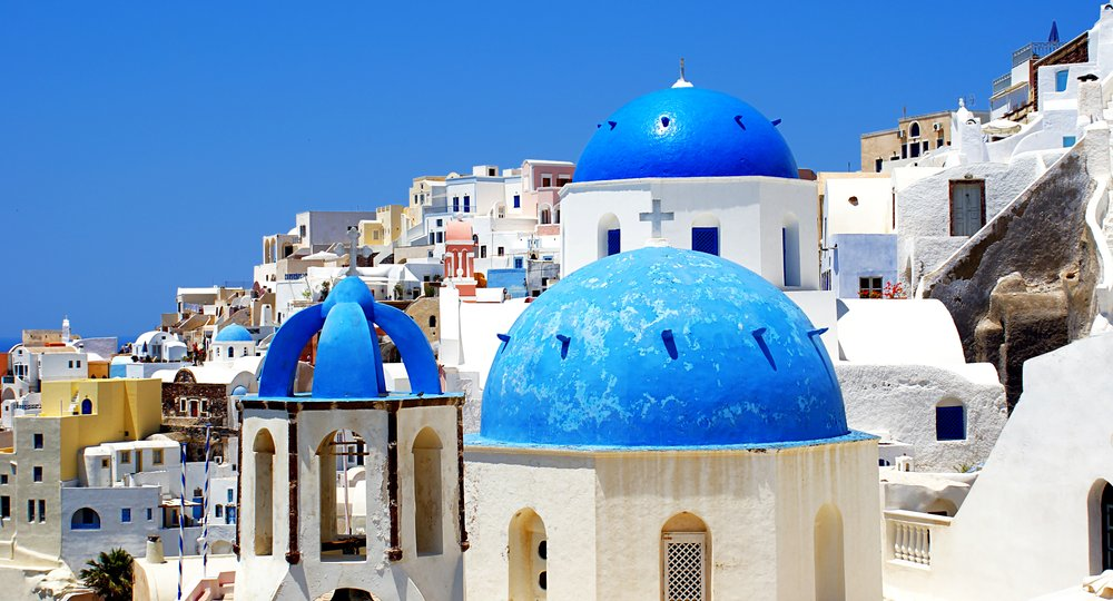 Cheap flights from London to Thira
