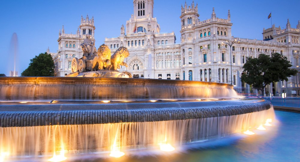 Cheap flights from Charleston to Madrid