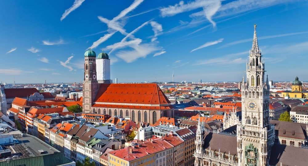 Cheap flights from London to Munich