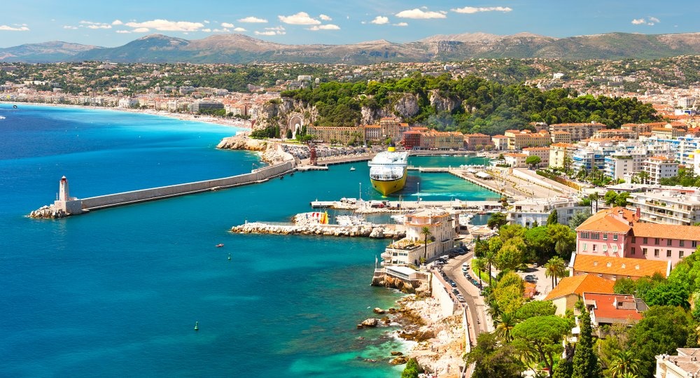 Cheap flights from Belfast to Nice