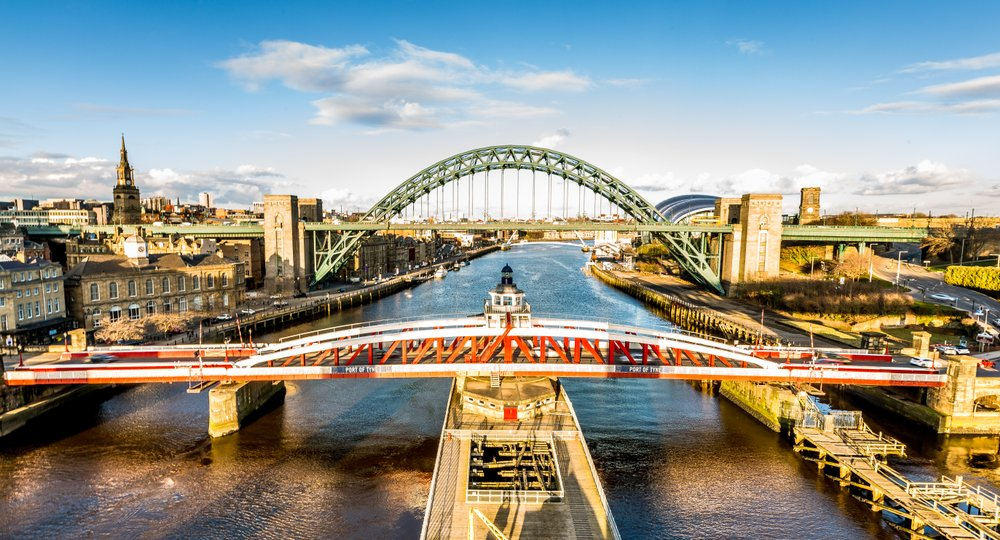 Cheap flights from Savannah to Newcastle