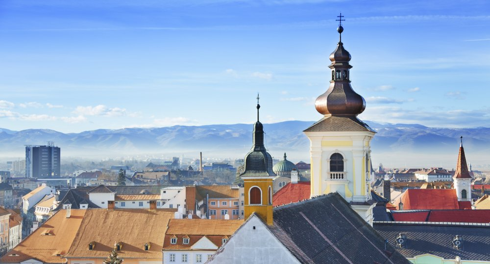 Cheap flights from London to Sibiu