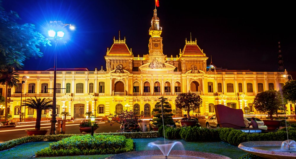 Cheap flights from Dallas to Ho Chi Minh City
