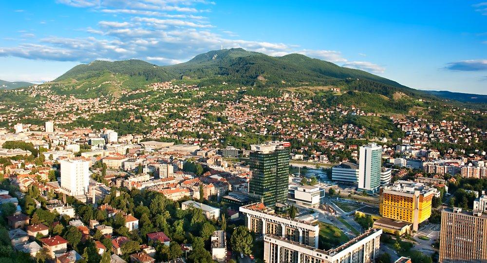 Cheap flights from London to Sarajevo