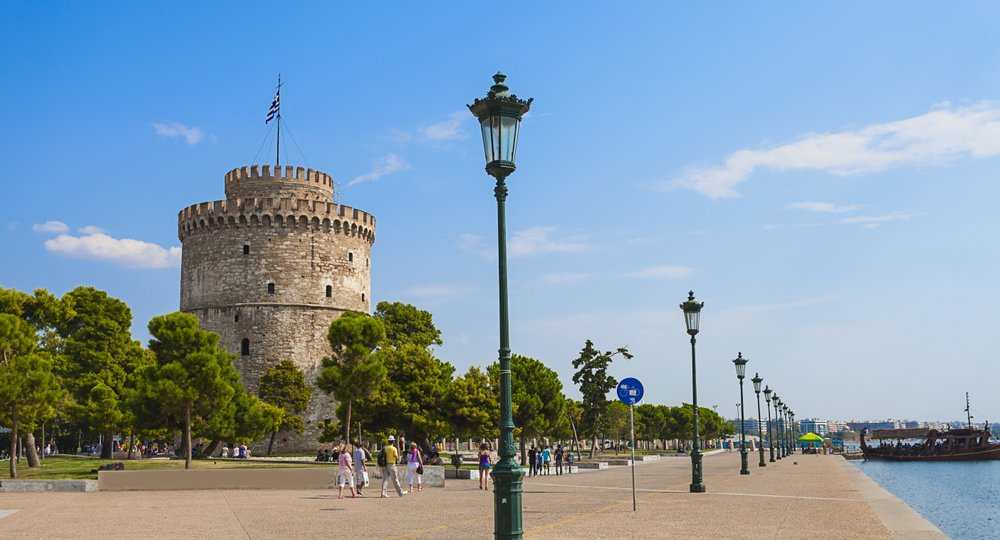Cheap flights from London to Thessaloniki