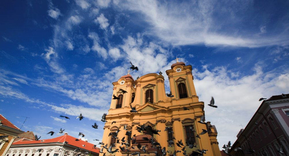 Cheap flights from London to Timisoara
